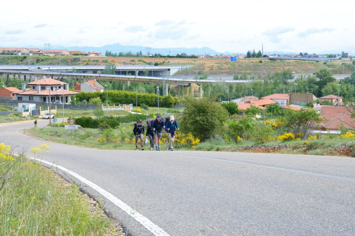 Plan Camino de Santiago - Peregrinos