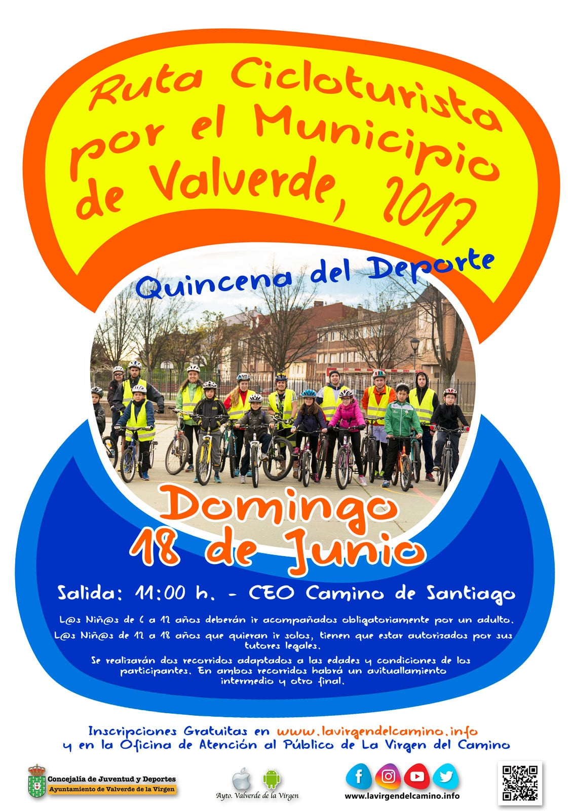 Ruta Escuela Ciclismo
