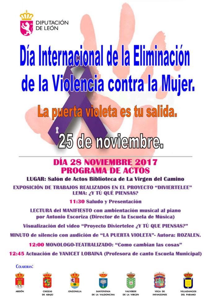 Día contra la Violencia de Género 2017
