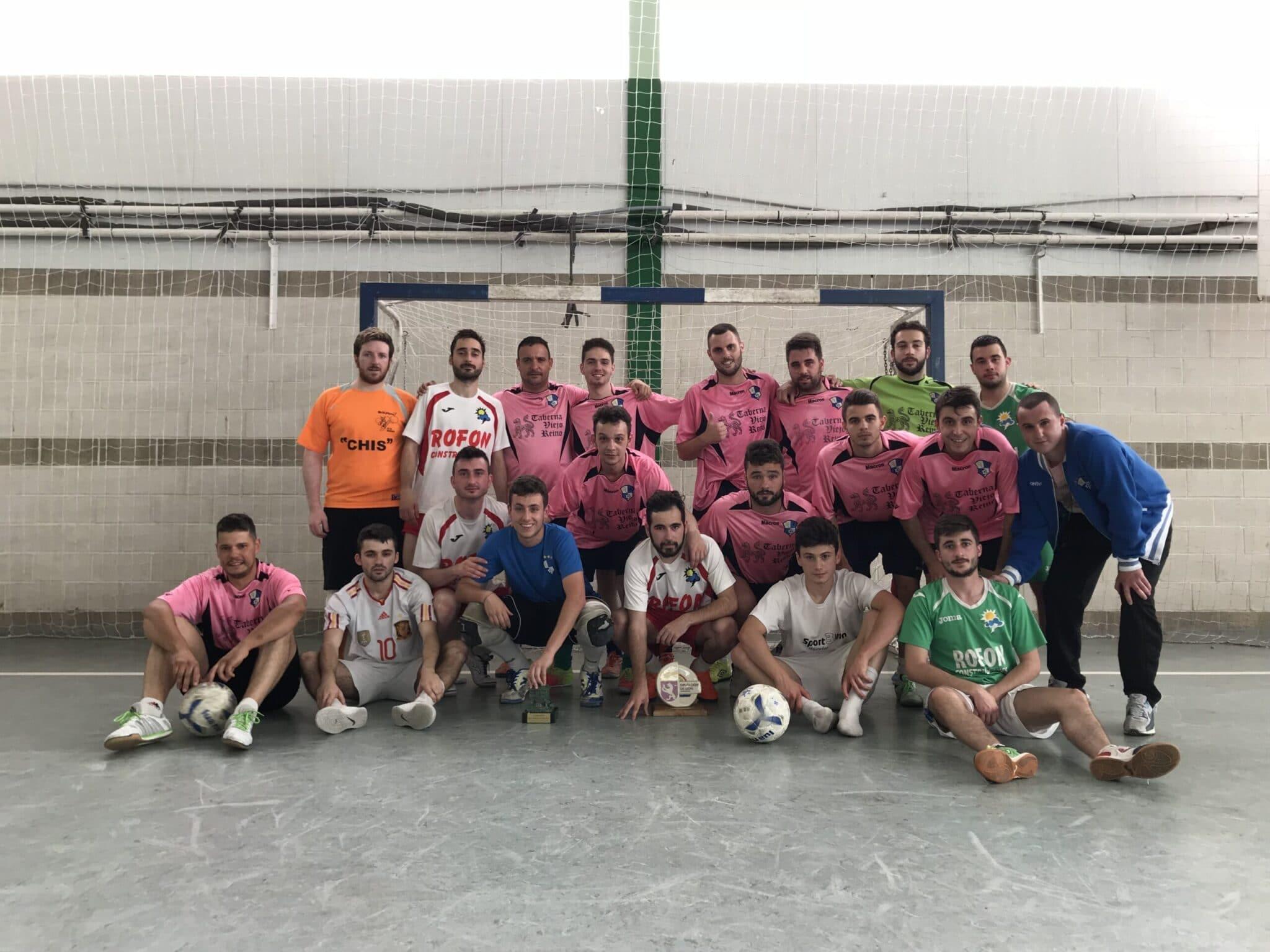 Racing de León - Ganadores 24 horas Fútbol Sala 2018