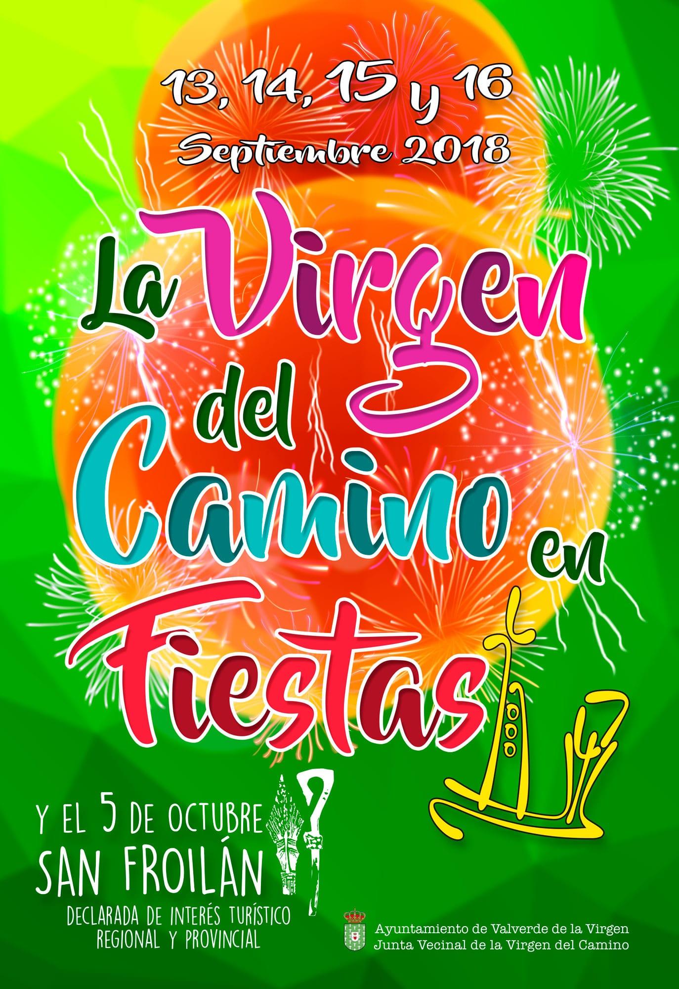 fiestas la virgen 2018 - 13- 14- 15 - 16