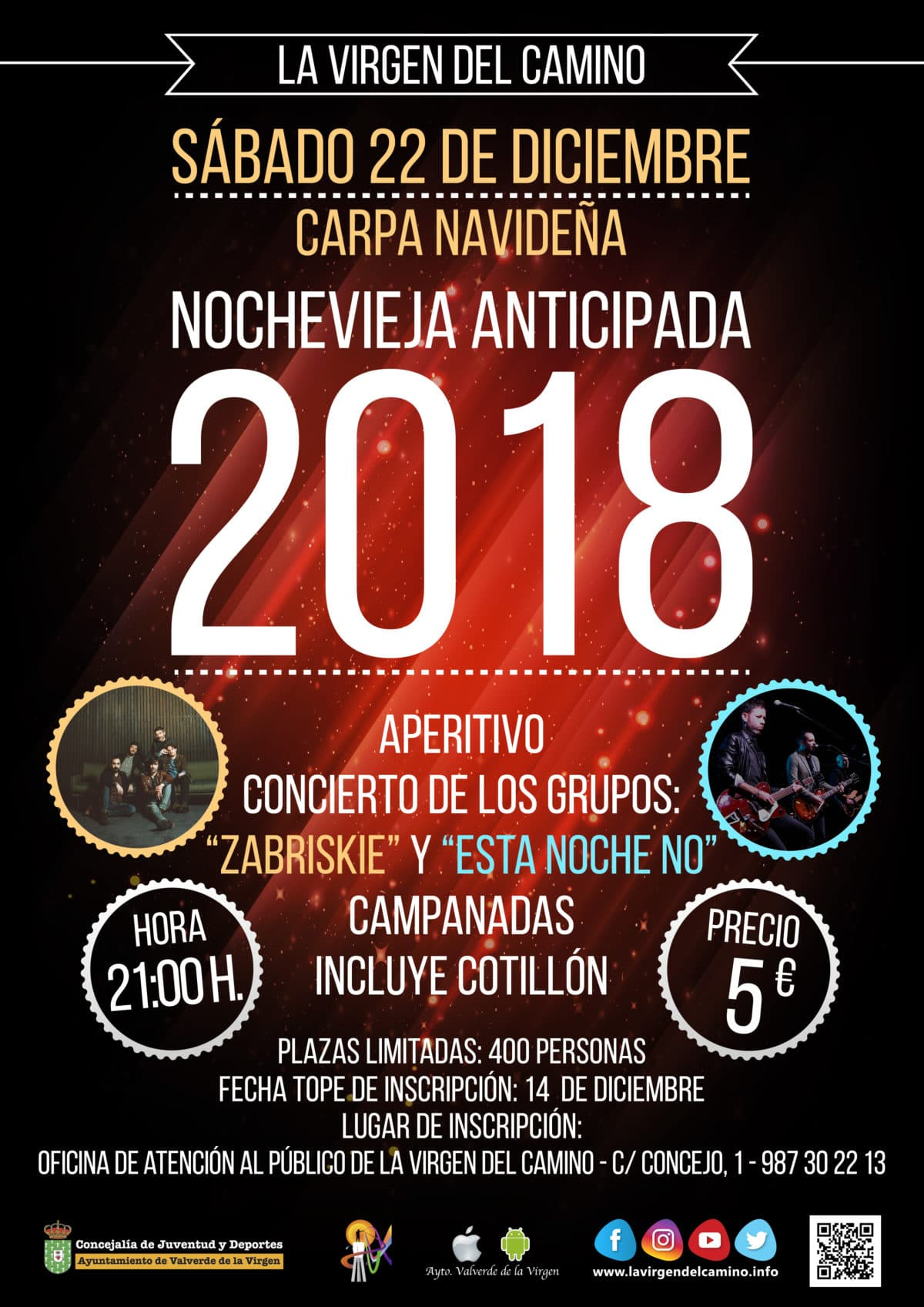 Noche Vieja Anticipada 2018