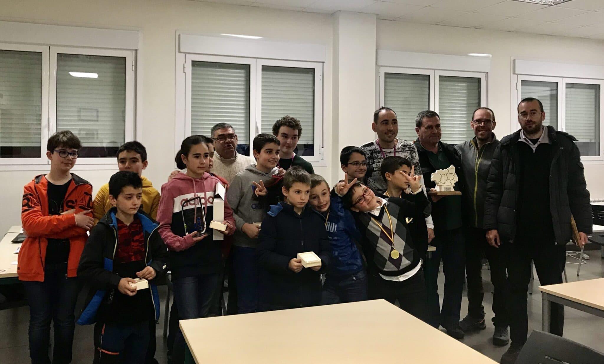 Ganadores Torneo Social Club Ajedrez 2019