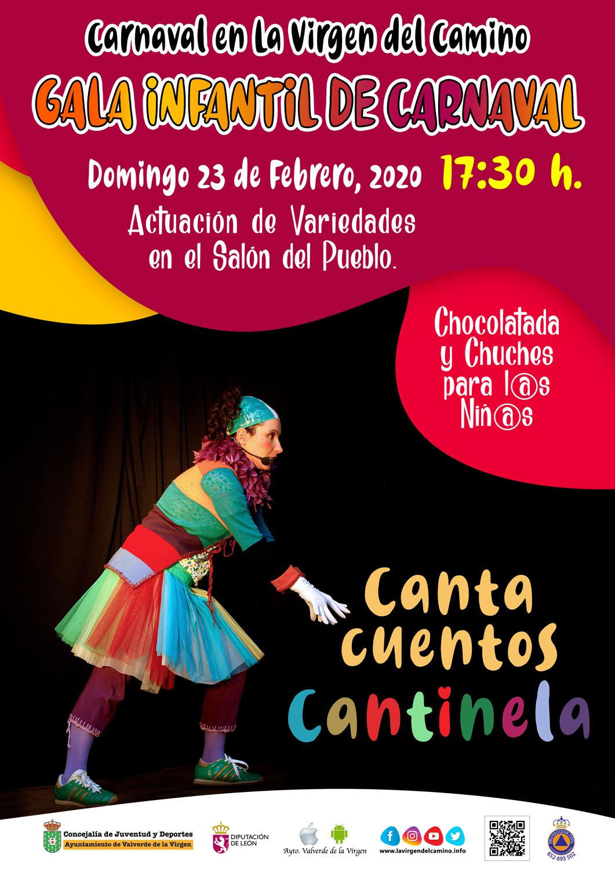 gala infantil carnaval