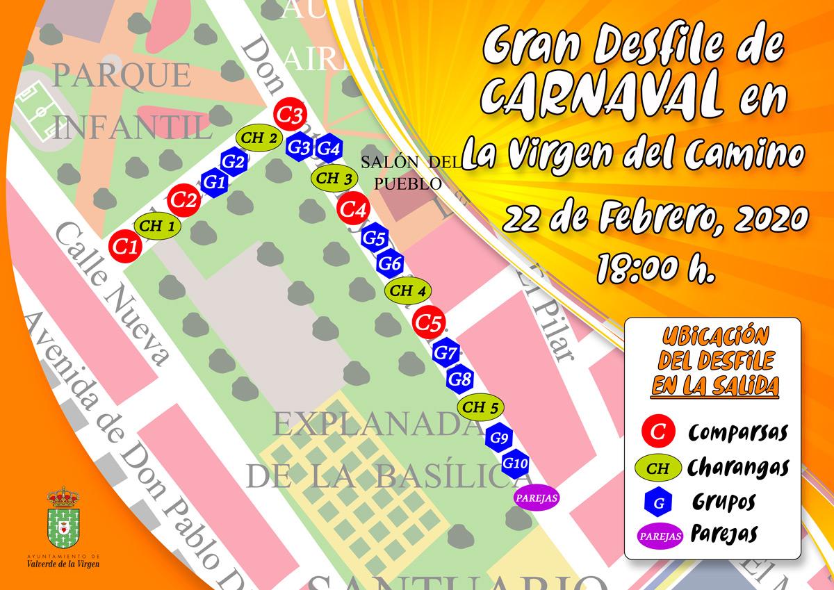 ubicación carnaval 2020